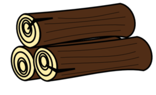 Log clip art free clipart images.