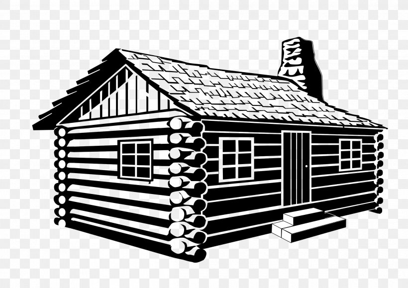 Log Cabin Drawing Clip Art, PNG, 2400x1697px, Log Cabin.