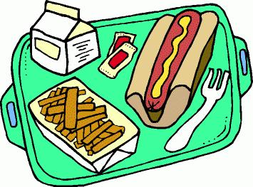 Hot lunch clipart.