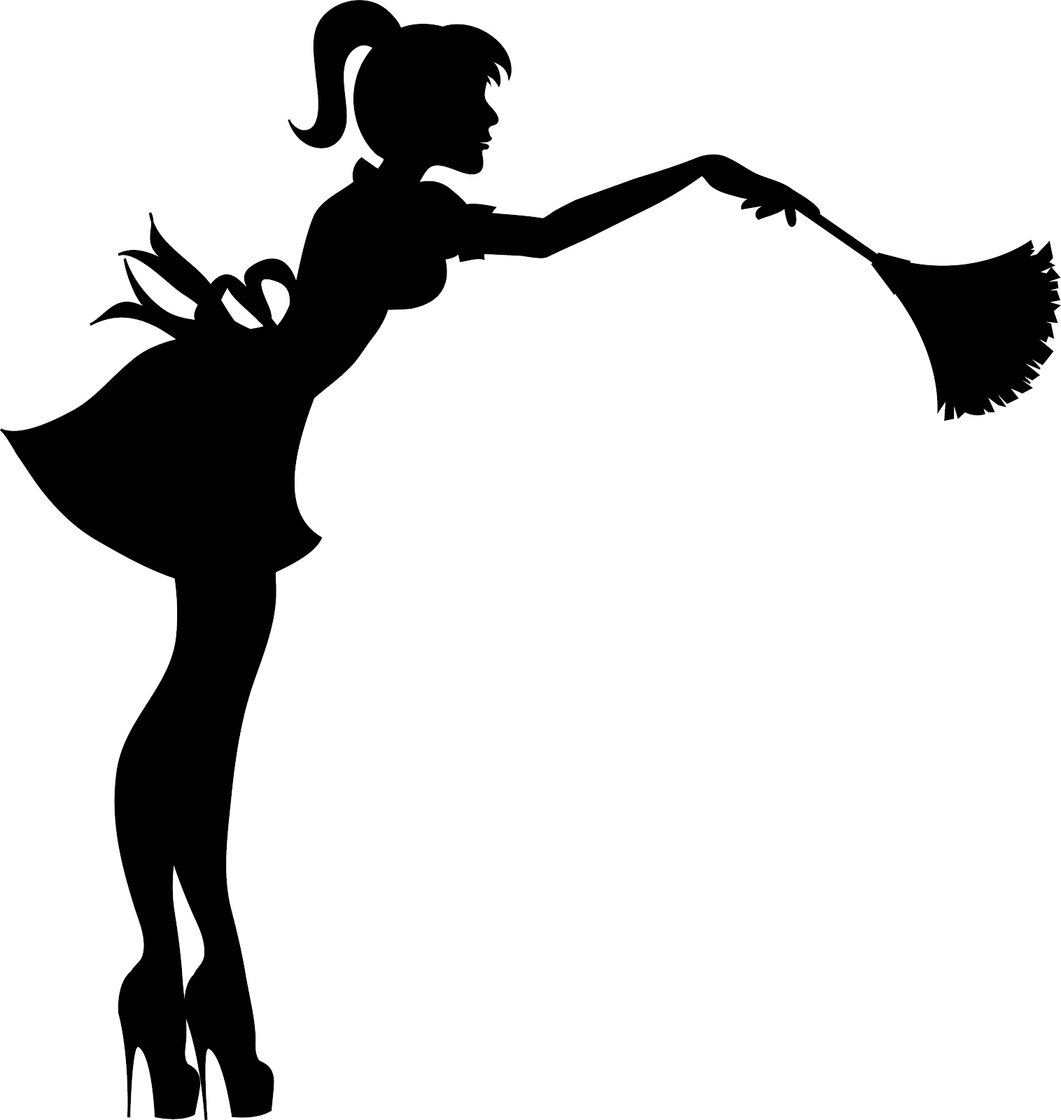 Maid Cleaning Service Clip Art N3 free image.