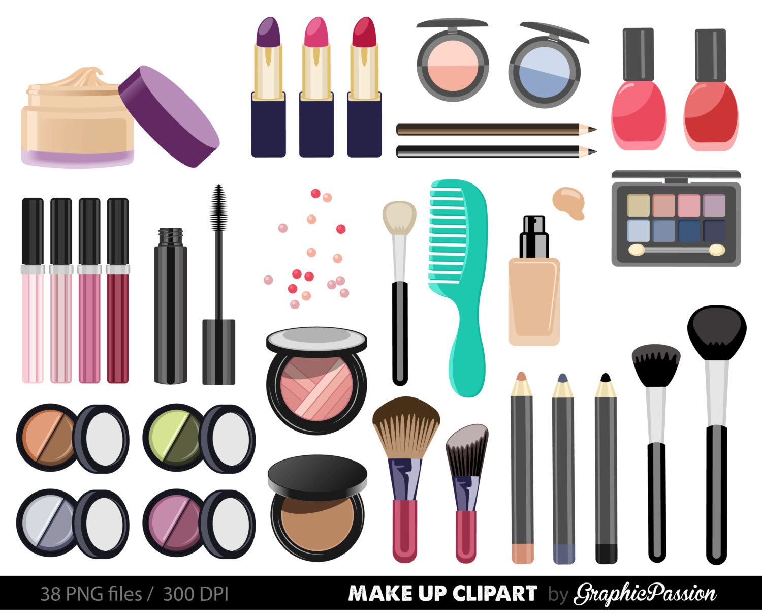 Free Makeup Cliparts, Download Free Clip Art, Free Clip Art.