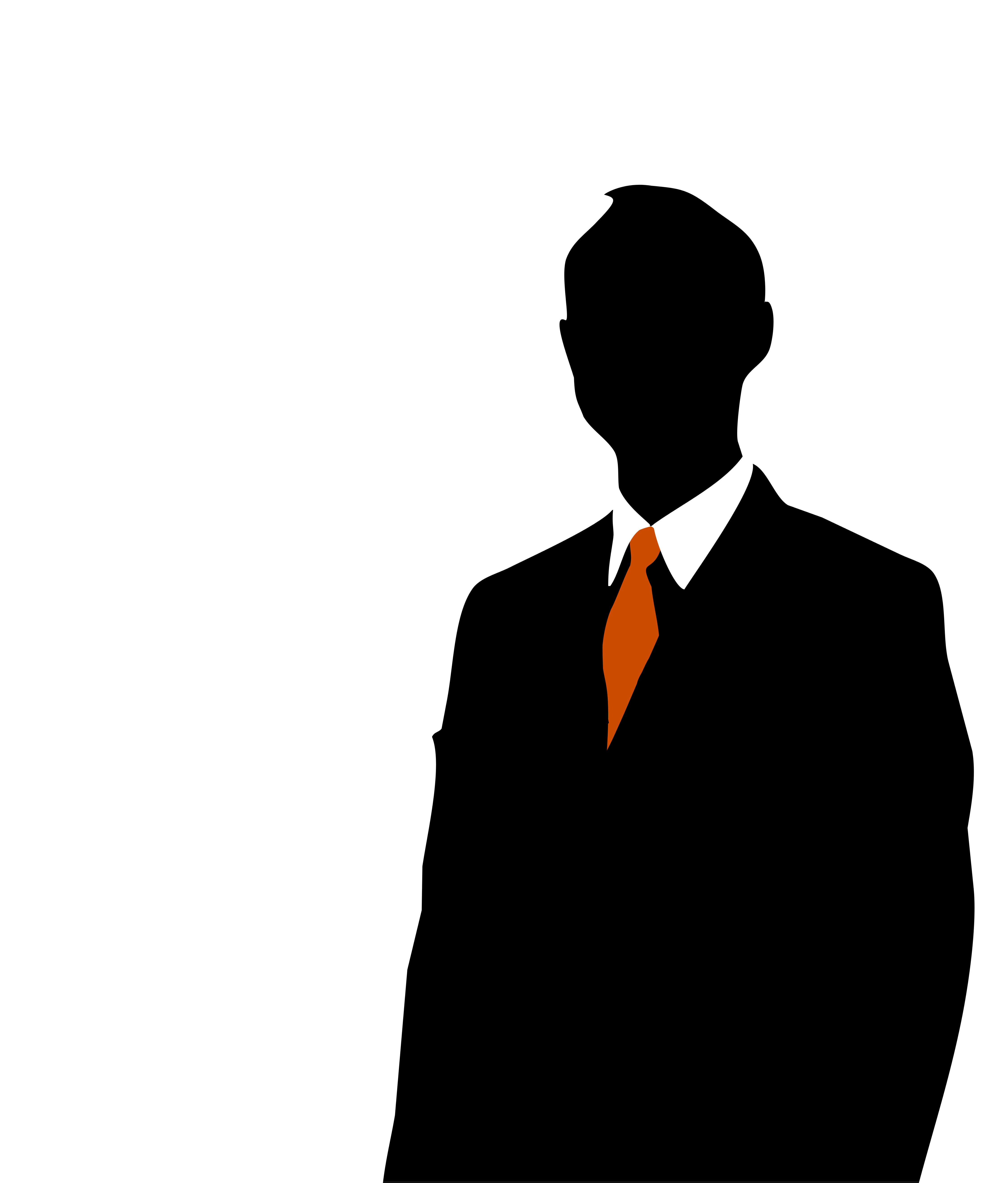 Business Person Silhouette.
