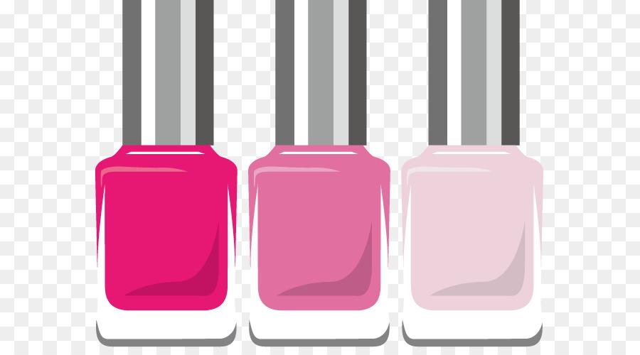 Manicure Nail Polish png download.