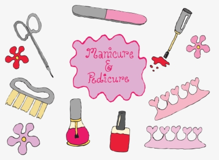 Free Pedicure Clip Art with No Background.