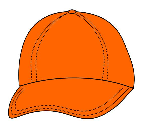 Orange Hat Clipart.
