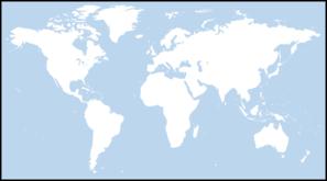 Light Blue World Map Clip Art at Clker.com.