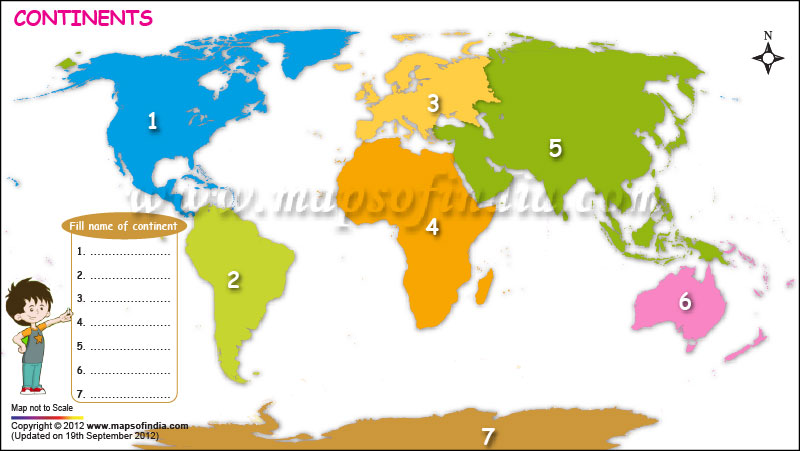 map of the world for kids.