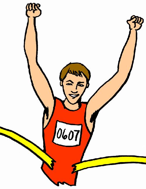 Marathon Runner Clip Art Free N2 free image.