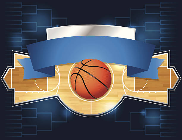 Best March Madness Illustrations, Royalty.
