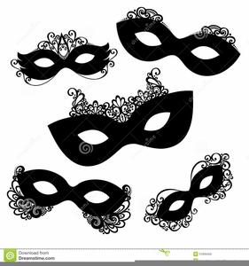 Mardi Gras Mask Clipart.