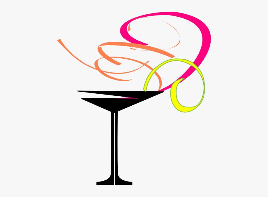 Margarita Glass Clip Art.