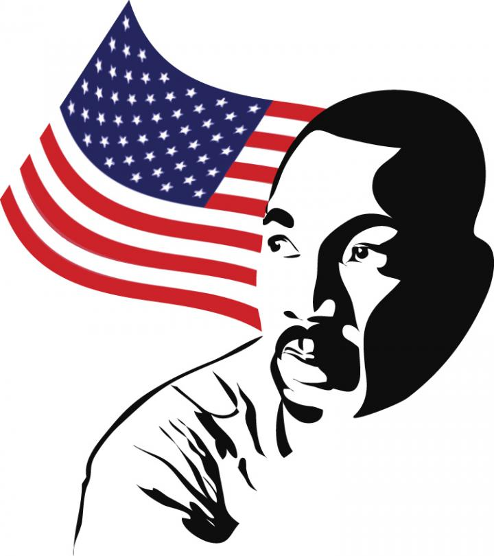 2616 Martin Luther King free clipart.