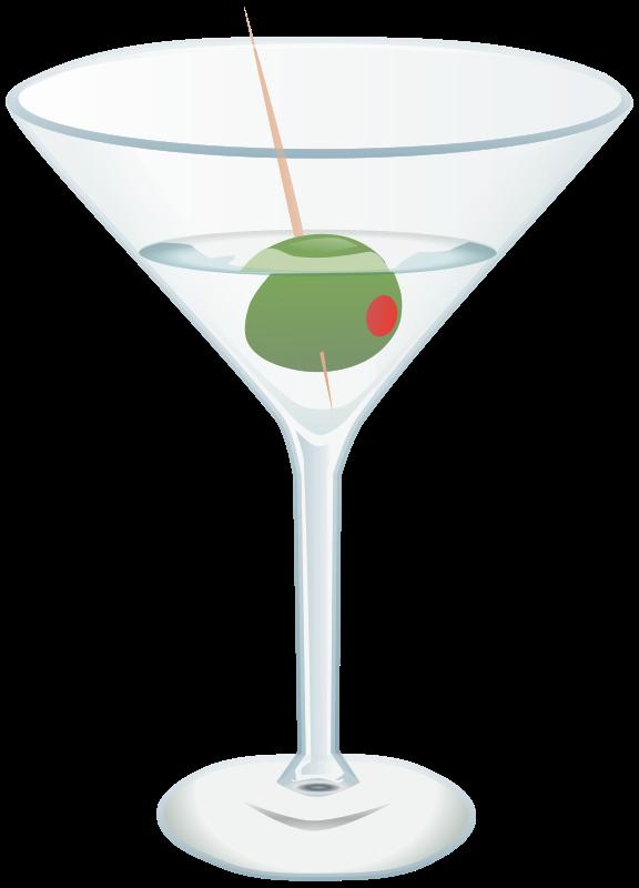 Free Clipart: Martini.
