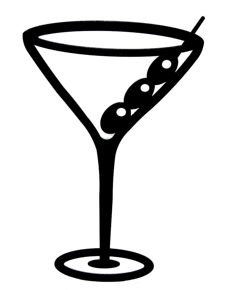 682 Martini free clipart.