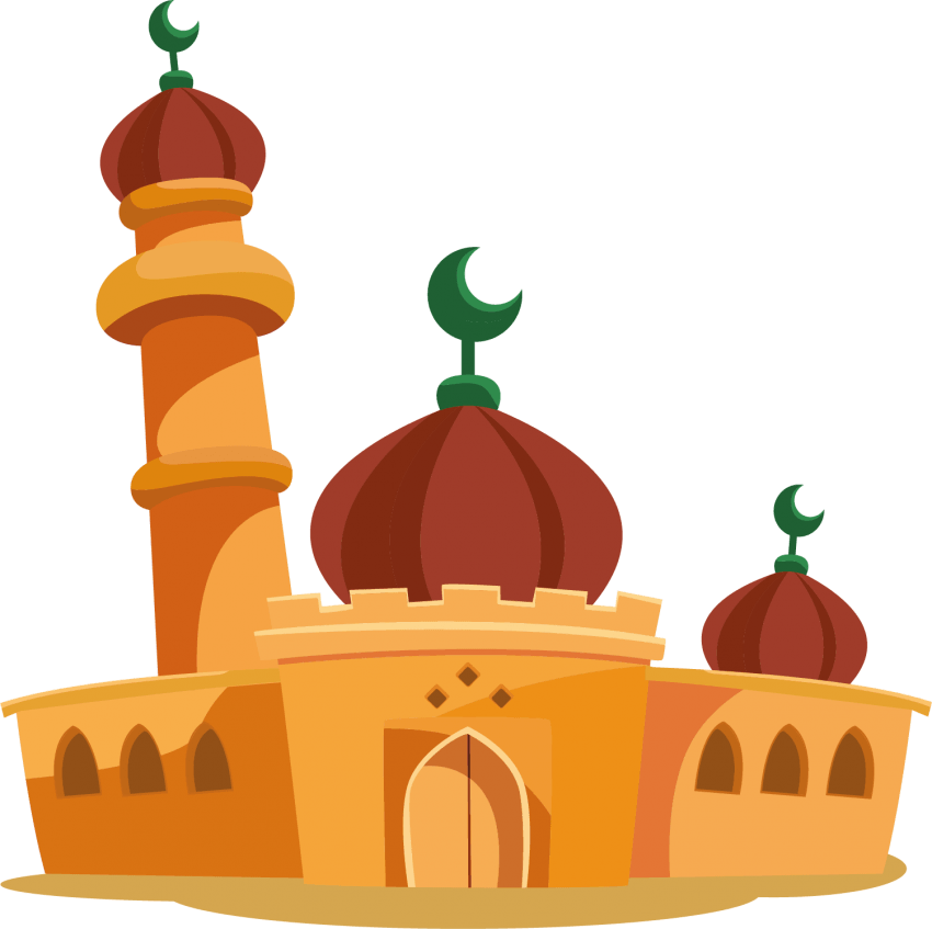 Download Mosque vector png images background png.
