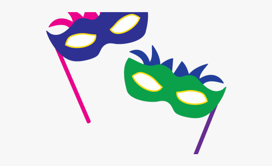 Masks Clipart New Year.