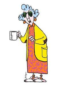 Maxine Cartoon Character Clipart.