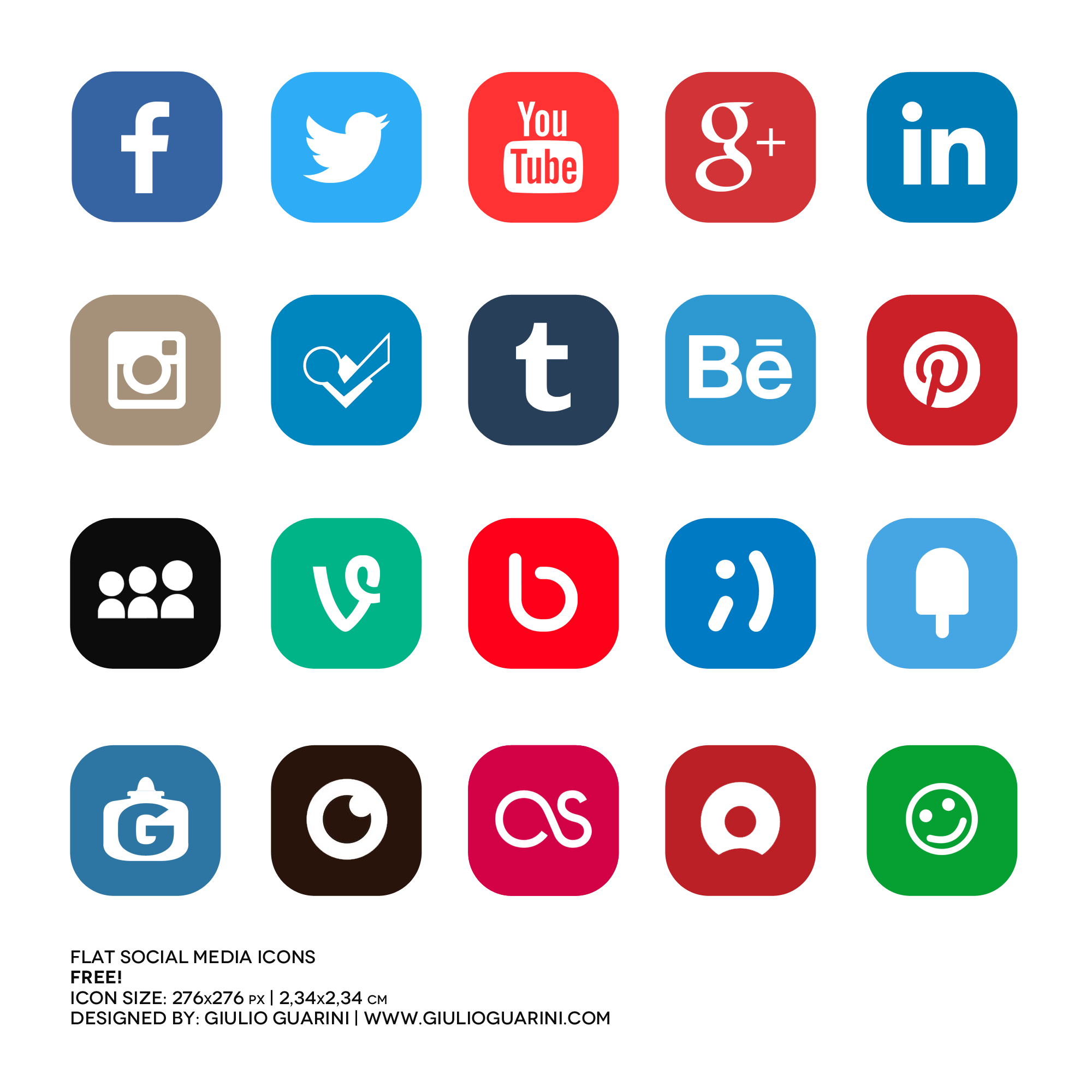 Download Media Icons Computer Advertising Social Free.