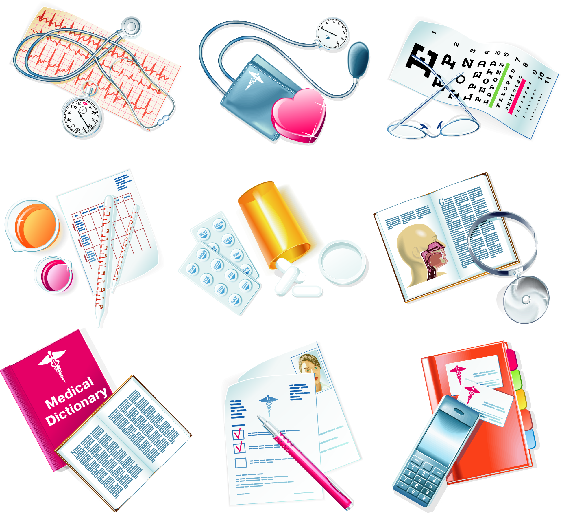 Free clipart vector image medical equipment.