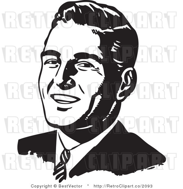 Men Clipart Black And White.