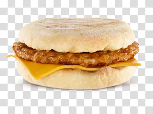 Mcdonalds Sausage Mcmuffin PNG clipart images free download.