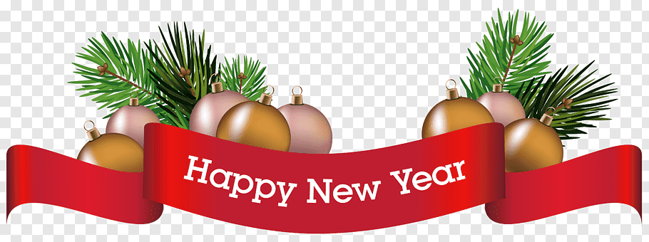Happy New Year signage, Christmas decoration New Year, Merry.