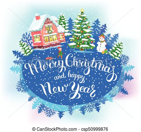 3768 Happy New Year free clipart.