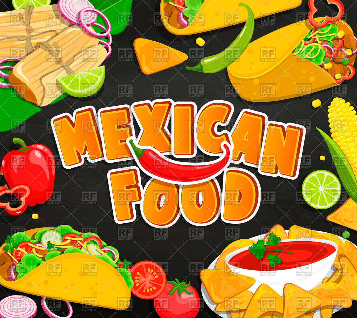 Free clipart mexican food 6 » Clipart Station.