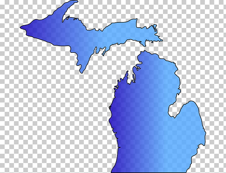 Michigan Map , map PNG clipart.