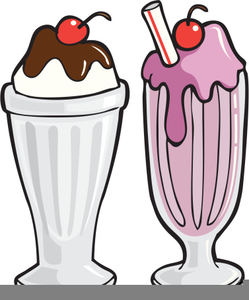 Clipart Milkshake Free.