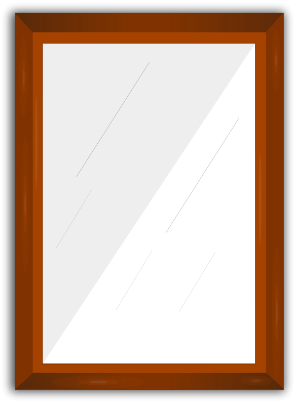 Free Clipart: Mirror Frame.