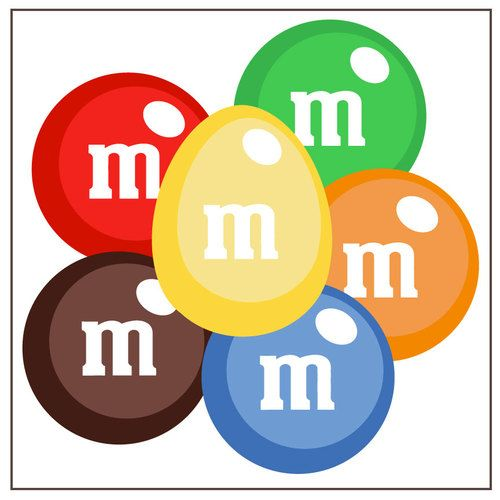 M & M Clipart Free.