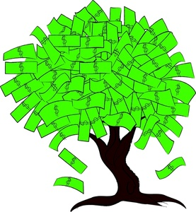 Free Money Tree Clipart Image 0515.
