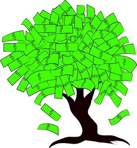 Free Money Tree Clipart Image 0515.