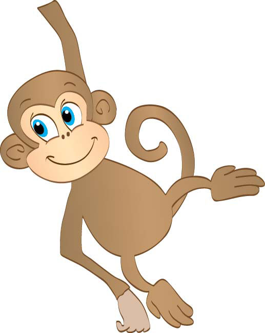 Monkey clip art free clipart images.