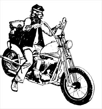 Free Motorcycle Clipart & Motorcycle Clip Art Images.