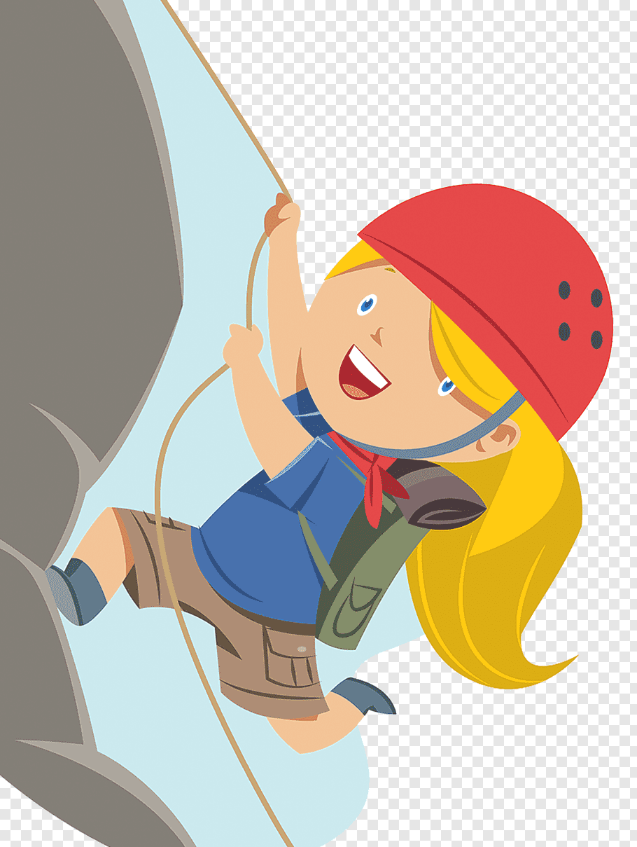 Female climber, Rock climbing, Mountain climbing free png.