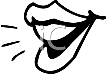 Free Clipart Mouth Speaking Clipground