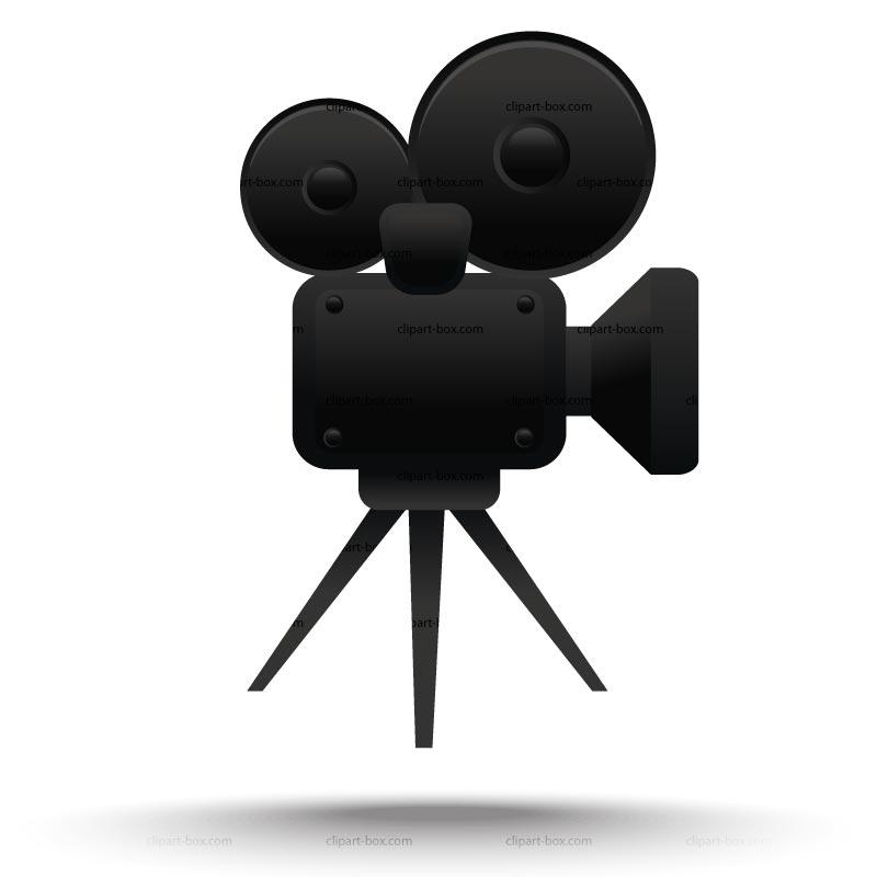 Clip Art Movie Camera And Film Clipart#2020873.