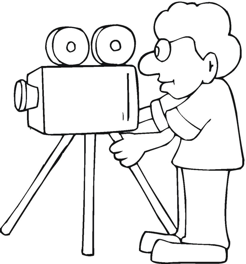Best Movie Camera Clip Art #17513.