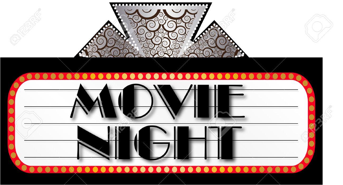 903 Movie Night free clipart.