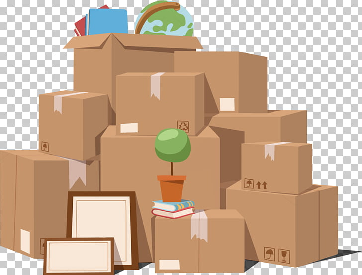 Mover Paper Cardboard box Relocation , moving PNG clipart.
