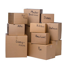 1118 Boxes free clipart.