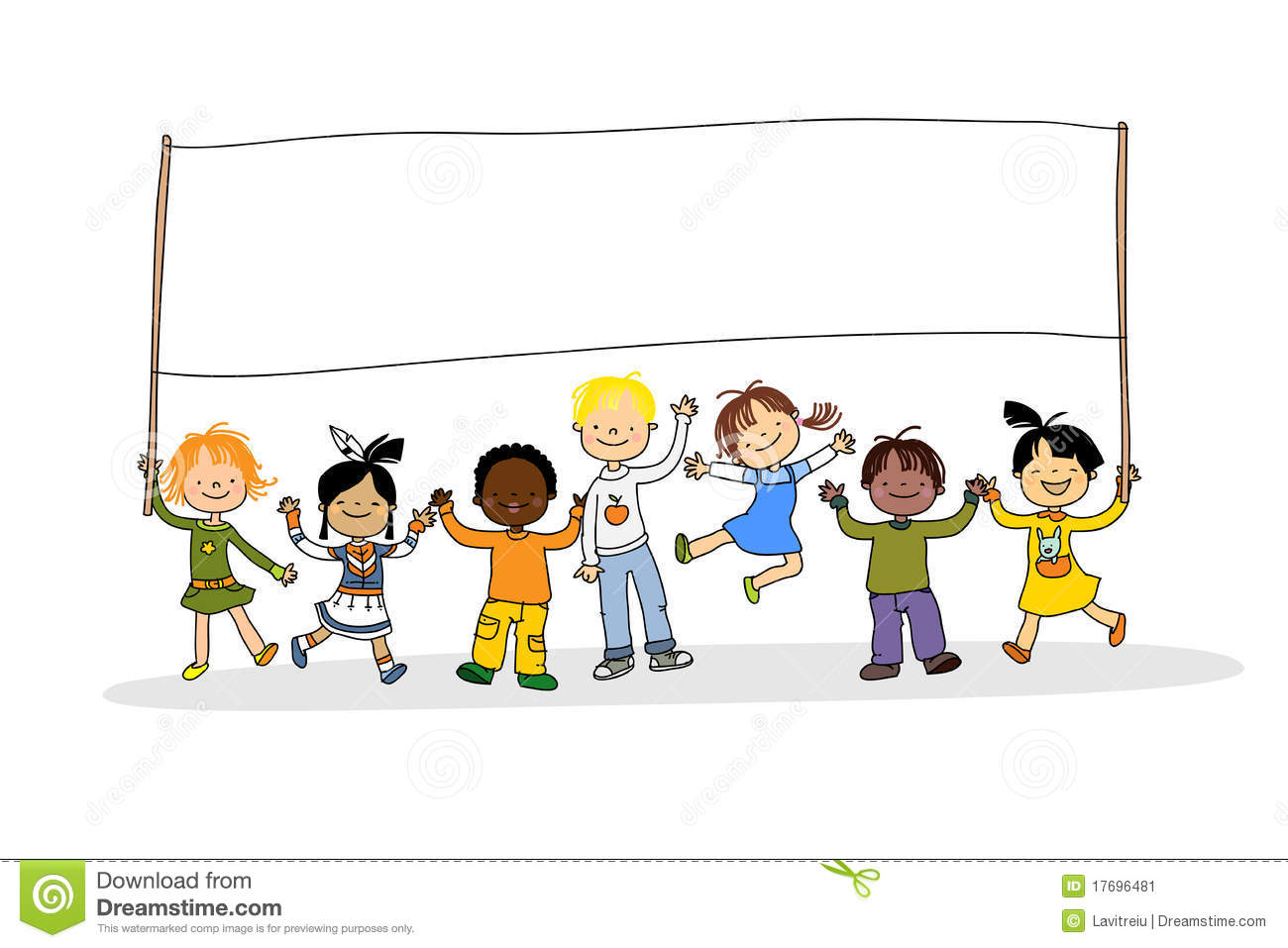 Free clipart of multicultural children 2 » Clipart Station.