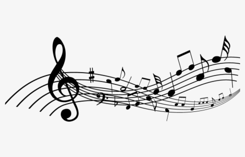 Free Music Staff Clip Art with No Background.