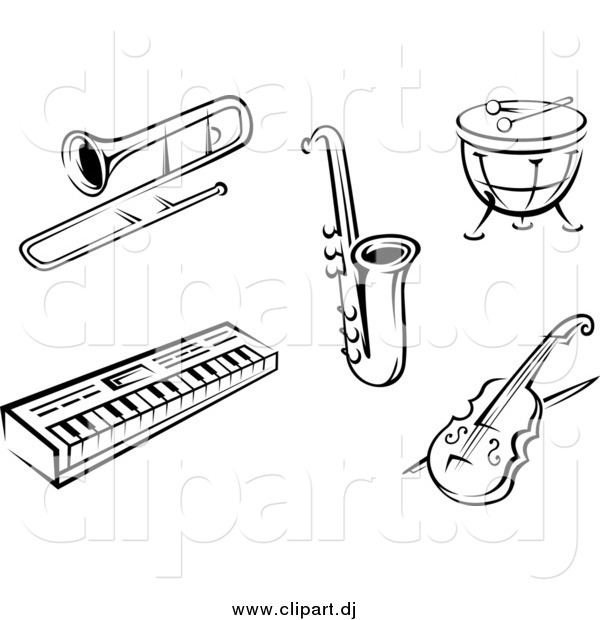 1957 Instruments free clipart.