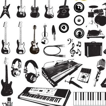 Musical instrument clip art free vector download (221,237.