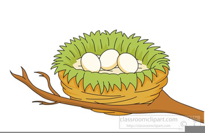 Clipart Of A Nest.