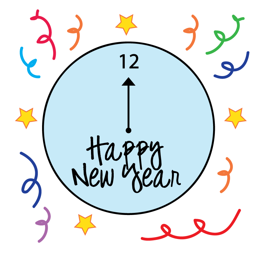New Year Eve Clip Art 1.