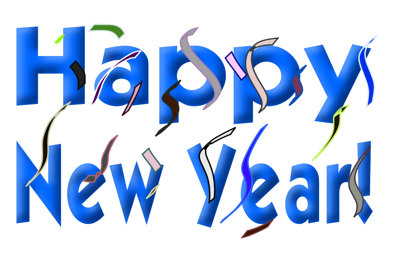 Free Clipart: Happy New Year!.